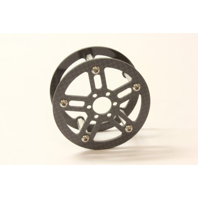 Two Piece Carbon Fiber Wheels