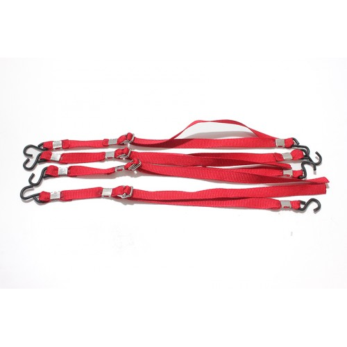 Red Scale Tie-Downs (4-Pack)