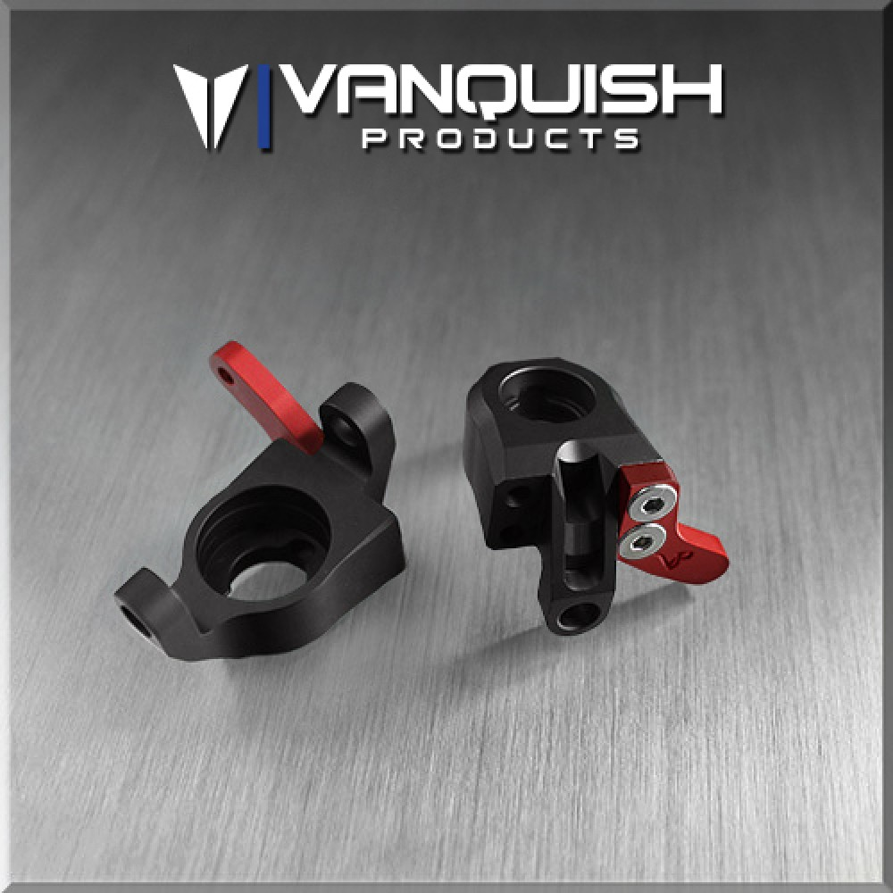 VANQUISH WRAITH STEERING KNUCKLES (2) BLACK