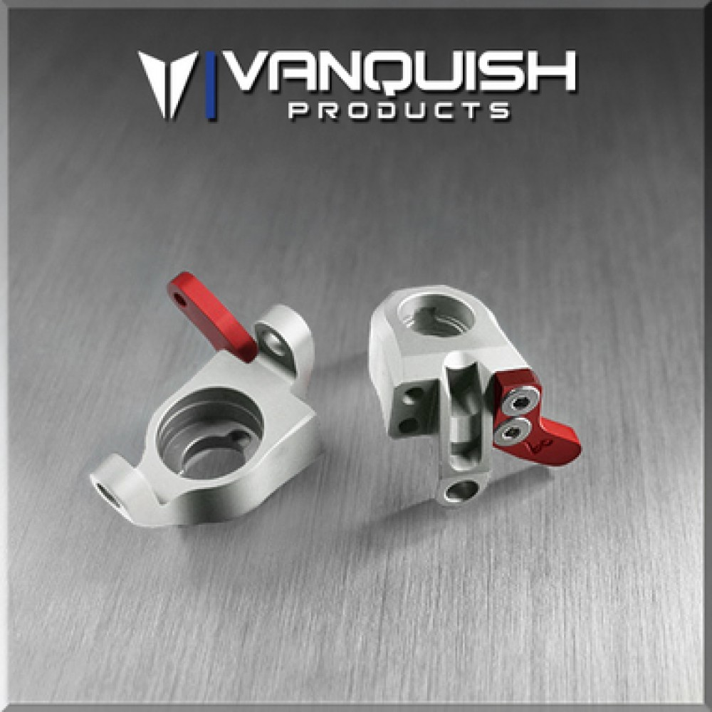 VANQUISH WRAITH STEERING KNUCKLES (2) (Clear)
